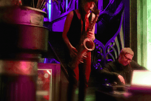 dj and sax