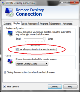 WINDOWS REMOTE DESKTOP ACCESS